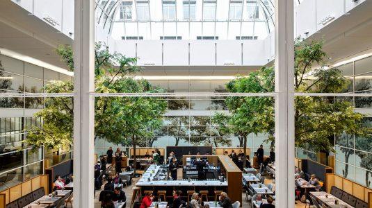 Restaurant La Table de La Grande Epicerie de Paris, la coupole de verre - Copyright DR_preview
